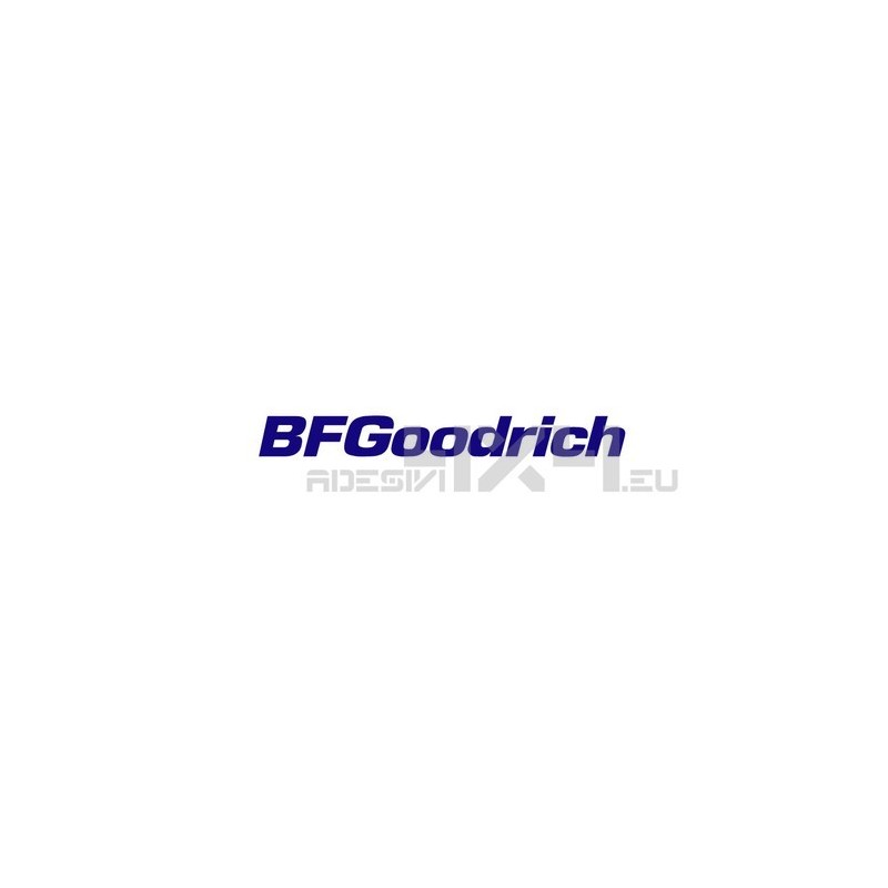 Adesivo bf goodrich logo