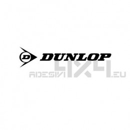 Adesivo dunlop logo