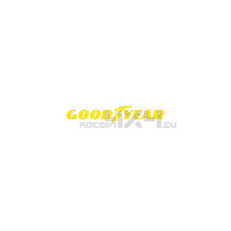 Adesivo goodyear logo