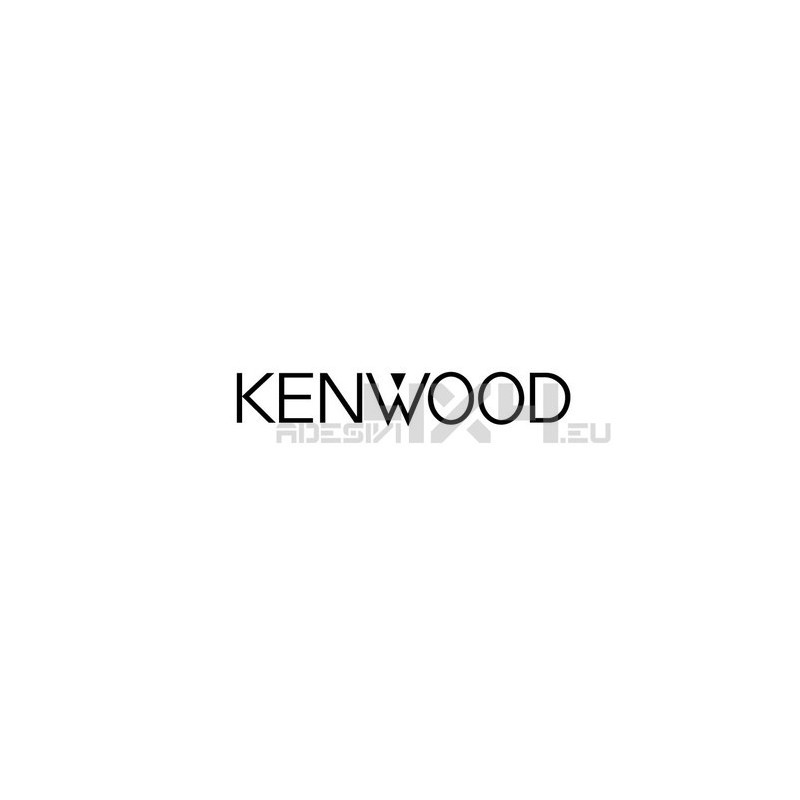 Adesivo kenwood logo