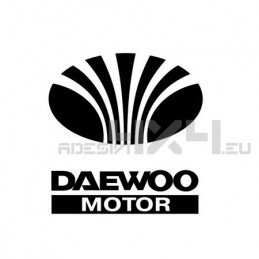 Adesivo daewoo motor