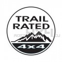 Adesivo jeep trail rated