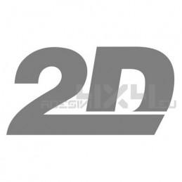 Adesivo 2d datarecording