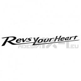 Adesivo yamaha revs your heart