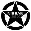 Adesivo stella nissan 20x20cm