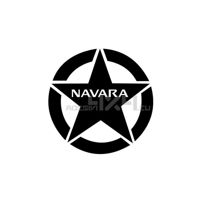 Adesivo stella nissan navara 20x20cm