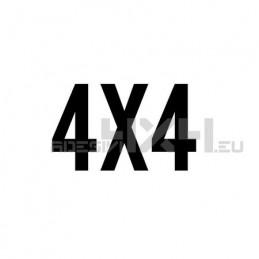 Adesivo scritta 4x4 mod.f