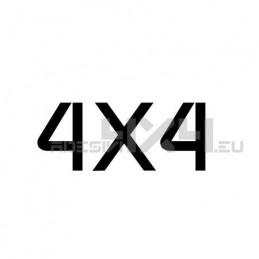 Adesivo scritta 4x4 mod.i