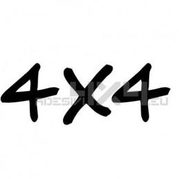 Adesivo scritta 4x4 mod.l