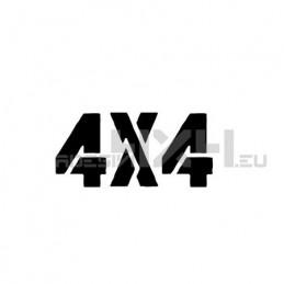 Adesivo scritta 4x4 mod.m