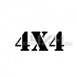 Adesivo scritta 4x4 mod.u