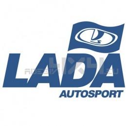 adesivo bandiera LADA autosport
