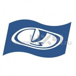 adesivo LADA logo bandiera