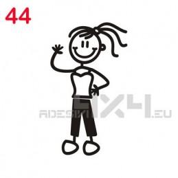 adesivo family 44