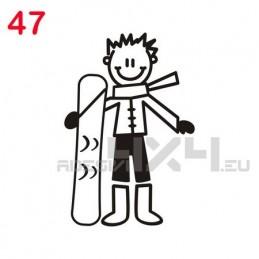adesivo family 47