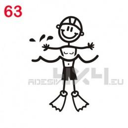 adesivo family 63