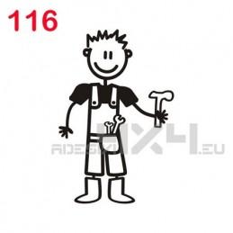 adesivo family 116