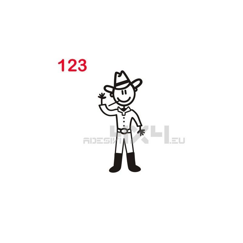 adesivo family 123