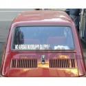 Adesivo no airbag muoriamo da eroi