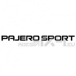 Adesivo mitsubishi pajero sport scritta