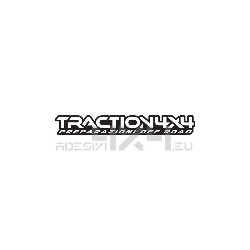 Adesivo traction4x4