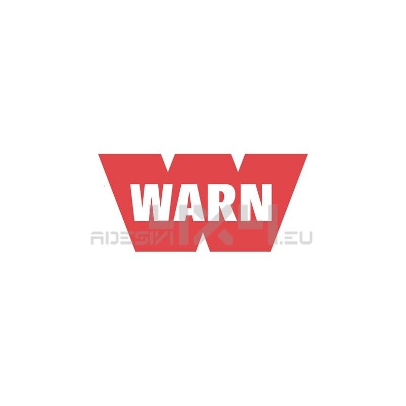 Adesivo warn logo