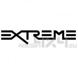 Adesivo scritta extreme mod.3