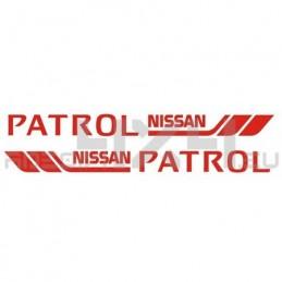 Adesivo nissan patrol marine