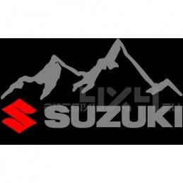 Adesivo 4x4 montagne suzuki