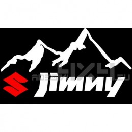 Adesivo 4x4 montagne suzuki jimny