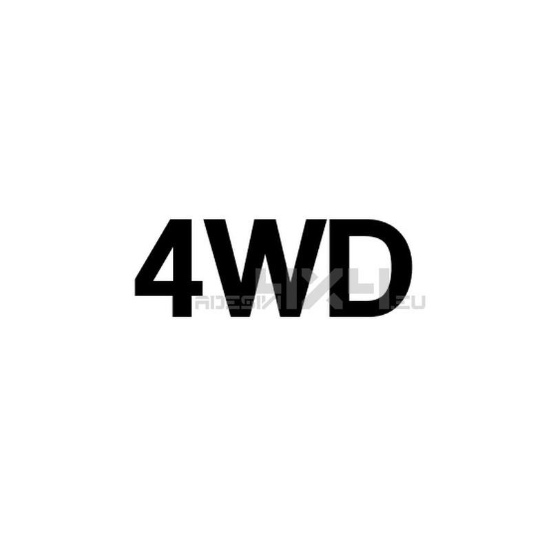 Adesivo scritta 4wd mod.g
