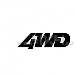 Adesivo scritta 4wd mod.i