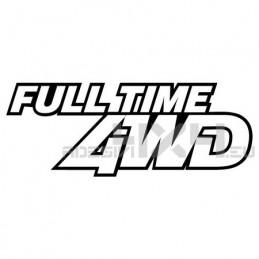 Adesivo full time 4wd bordo