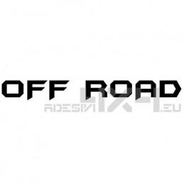 Adesivo scritta off road mod.c