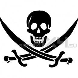 Adesivo pirati mod.a