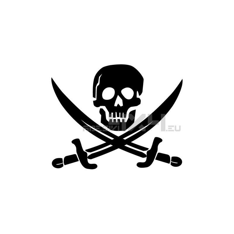 Adesivo pirati mod.b
