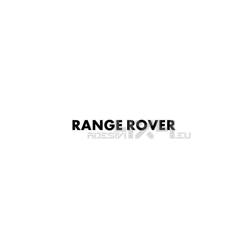 Adesivo RANGE ROVER scritta