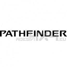 Adesivo nissan pathfinder scritta