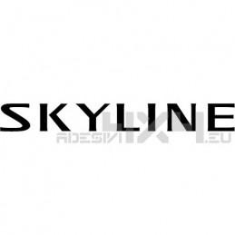 Adesivo nissan Skyline scritta