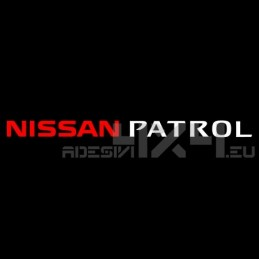 Adesivo parabrezza NISSAN PATROL