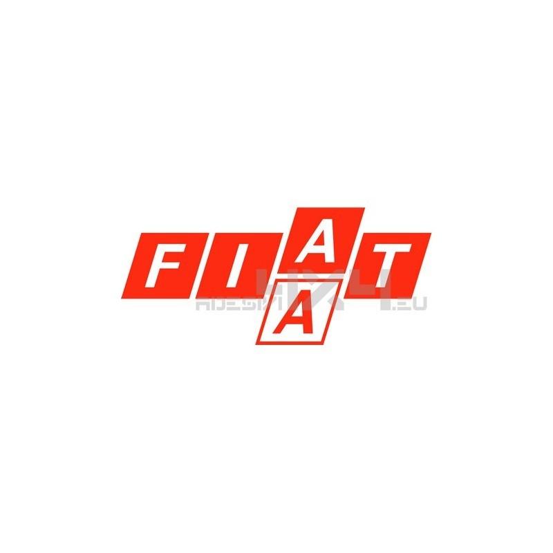Adesivo logo FIAT mod.d