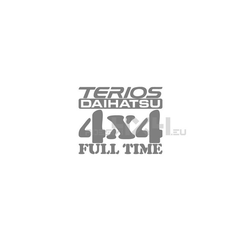 Adesivo Daihatsu Terios 4x4 full time