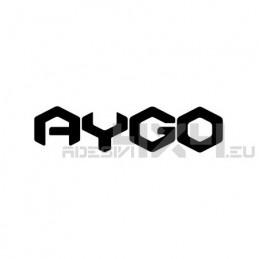 Adesivo toyota AYGO scritta