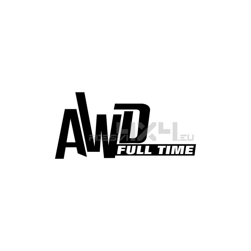 Adesivo toyota AWD full time scritta
