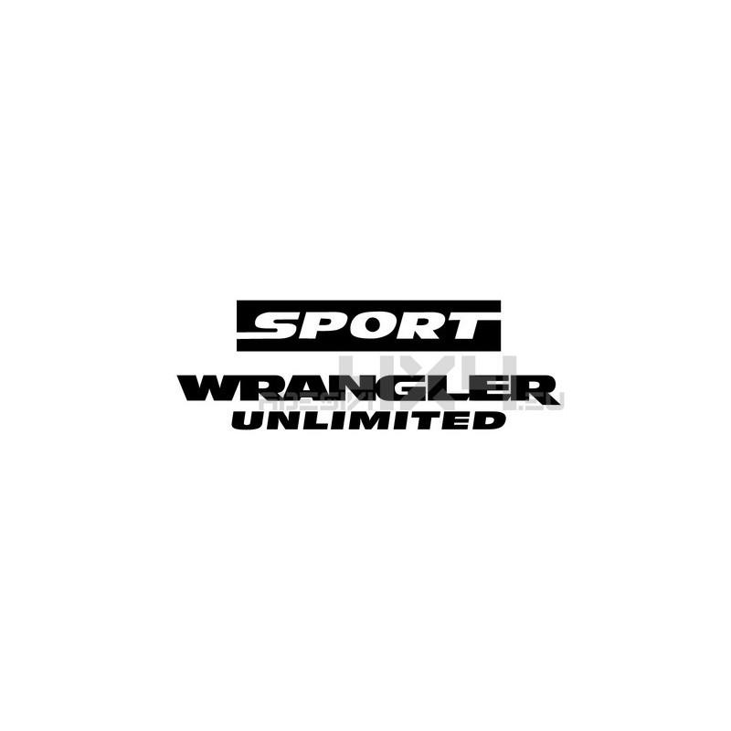 Adesivo jeep WRANGLER UNLIMITED sport