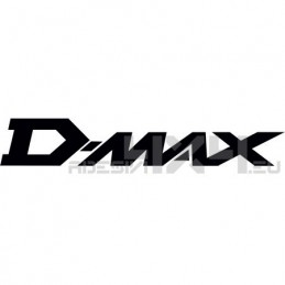 Adesivo isuzu d-max scritta