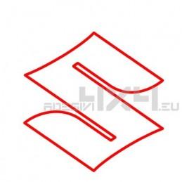 Adesivo logo SUZUKI contorno xl