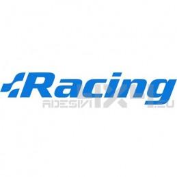 Adesivo scritta racing