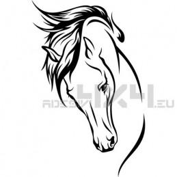 Adesivo cavallo mod.a