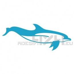 Adesivo delfino mod.a